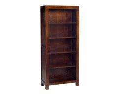 Tanda Mango (Dark) Solid Hardwood Large Bookcase