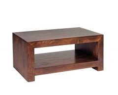 Tanda Mango (Dark) Solid Hardwood Contemporary Coffee Table Small