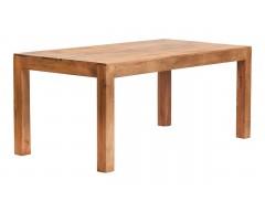 Tanda Mango (Light) Solid Hardwood Dining Table (6ft/180cm)