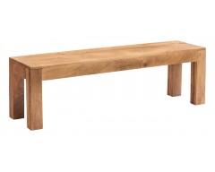 Tanda Mango (Light) Solid Hardwood Dining Bench