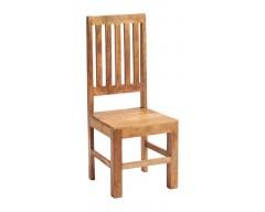 Tanda Mango (Light) Solid Hardwood Dining Chair