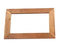 Tanda Mango (Light) Solid Hardwood Frame Mirror