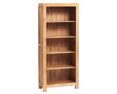 Tanda Mango (Light) Solid Hardwood Bookcase