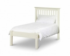 Madrid Stone White 3ft Low Footend Bed Frame