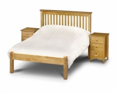 Madrid Pine 3ft Low Footend Bed Frame