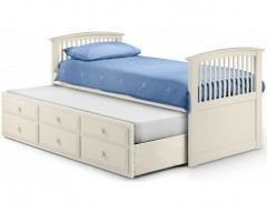 Hamilton Cabin Bed in Stone White