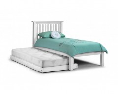 Madrid Stone White Hideaway Guest Bed
