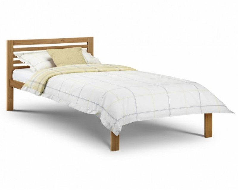 Sara 3ft Pine/White Bed Frame