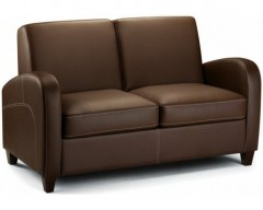 Vista Faux Leather Sofa Bed
