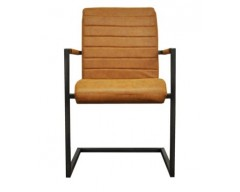 Ashton Chair in Oak with Metal Frame