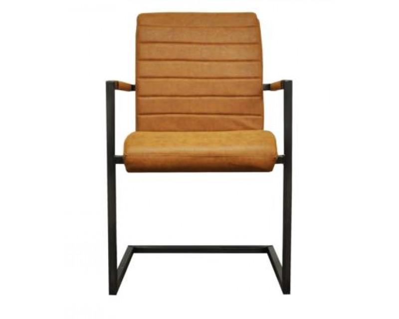 Ashton Chair in Oak with Metal Frame