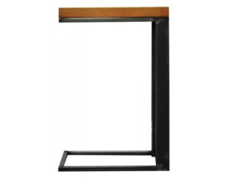 Ashton Industrial Style Oak and Metal Sofa Table