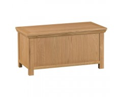 Corby Oak Blanket Box