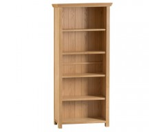 Corby Oak Large Wide Bookcase