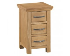 Corby Oak Narrow Bedside Cabinet