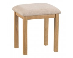 Corby Oak Dressing Table Stool