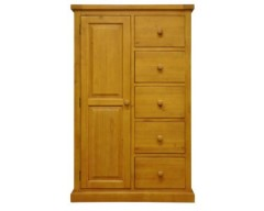 Warran Combi Wardrobe in Pine