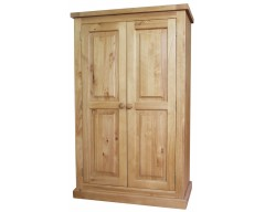 Warran 2 Door Wardrobe in Pine