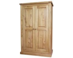 Carmen 2 Door Wardrobe in Pine