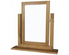 Carmen Trinket Mirror in Pine
