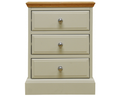 Danton Painted Oak Large Bedside Cabinet