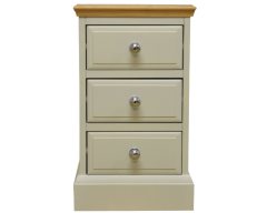 Danton Small Painted Oak Bedside Cabinet