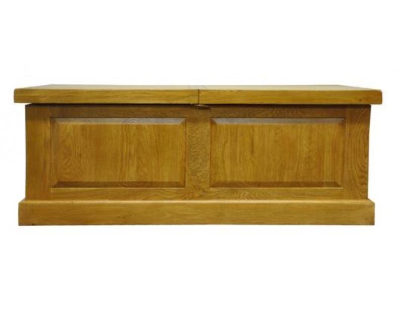Langdon Box Coffee Table in Oak