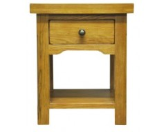 Langdon Lamp Table in Oak