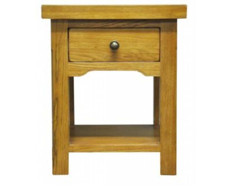 Langdon Lamp Table in Oak