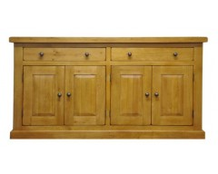 Langdon Small 4 Door Sideboard in Oak