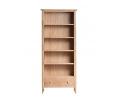 Normandy Oak Large Bookcase