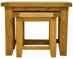 Sloane Oak Nest of Two Tables