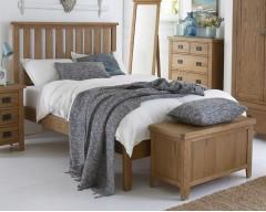 Sloane Solid Oak 3ft Bed Frame