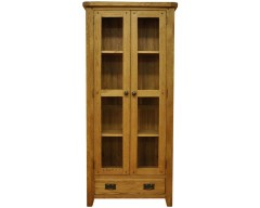 Sloane Oak Glass Display Cabinet