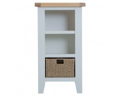 Trieste Small Narrow Bookcase