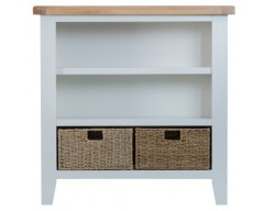 Trieste Small Wide Bookcase