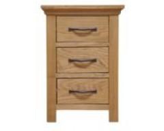 Windsor Solid Oak Large Bedside Cabinet