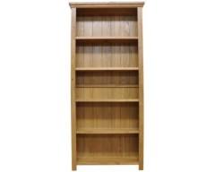 Windsor Oak Large Wide Bookcase