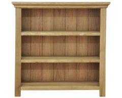 Windsor Oak Small Wide Bookcase