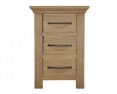 Windsor Oak Narrow Bedside Cabinet