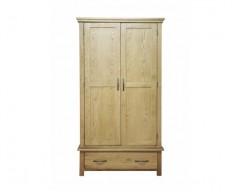 Windsor Solid Oak Gents Wardrobe