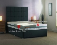 Mammoth Performance 240 Medical Grade Foam 4ft Small Double Divan Set