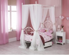 Bella 3ft Kids Four Poster Bed Frame