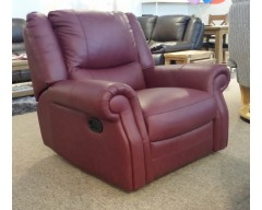Berrydale Italian Leather Chair