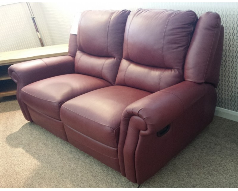 Berrydale 2 Seater Italian Leather Sofa
