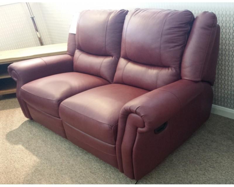 Berrydale 2 Seater Italian Leather Sofa