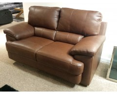 Cordoba 2 Seater Italian Leather Sofa