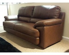 Cordoba 3 Seater Italian Leather Sofa