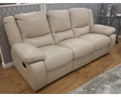 Virginia 3 Seater Italian Leather Sofa