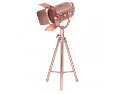 Copper Table Film Light